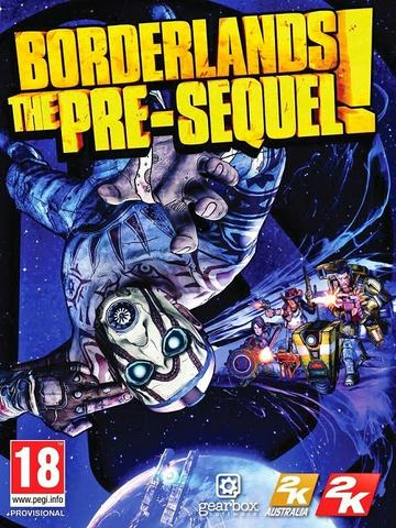 Borderlands The Pre-Sequel + UPDATE 1.04 + DLC (2 DVD)