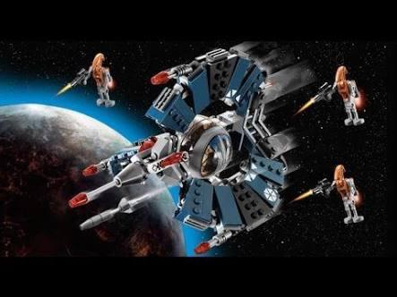 Lego Star Wars - Droid Tri Fighter 75044
