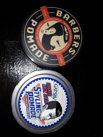 Barbers Pomade Waterbased 100 gram (LIMITED EDITION / BLACK EDITION)