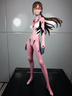 Makinami Mari EVANGELION Illustrious Figure 2012 IchibanKuji Banpresto MIB