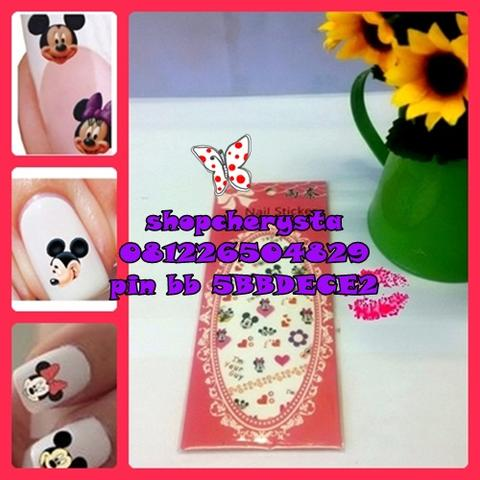 nail stiker / nail sticker / nail art
