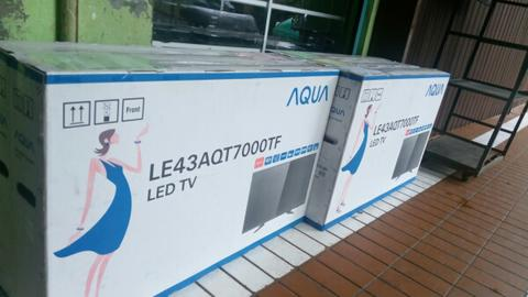 Jual Led Tv 43 Merek Sanyo Aqua Type LE43AQT7000TF