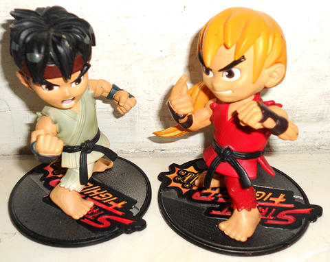 Terjual 1 Set Resaurus Street Fighter 2 Ii Jr 3 5 Action Figure