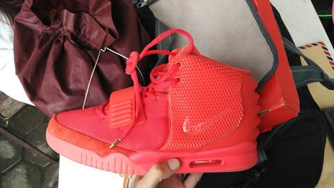 reputable site 5e206 1ff57 ... nike air yeezy sp 2 red october