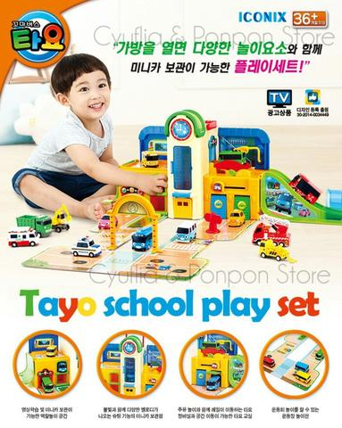 Tayo the Little Bus Play Set