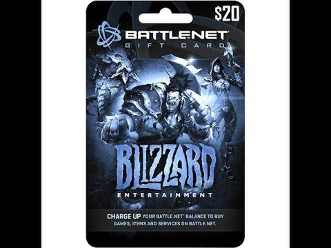 [littleojisan] Battle.net Balance Gift Card Global (USD)