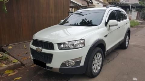 Jual Chevrolet Captiva Diesel Nik 2011 New Model Wputih Mutiara