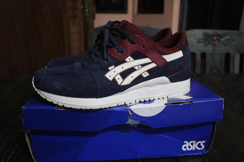 sneakers for cheap 6bf36 73032 TERJUAL Asics Gel Lyte III Indian Ink (RARE)