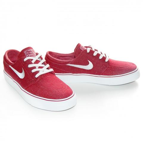 new concept 2dae6 20227 Nike SB Zoom Stefan Janoski CNVS Red sz 40 fit 39