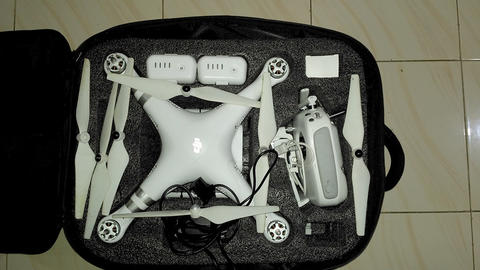 Jual Drone DJI PHANTOM 3 ADVANCE + Extra Battery (Surabaya)