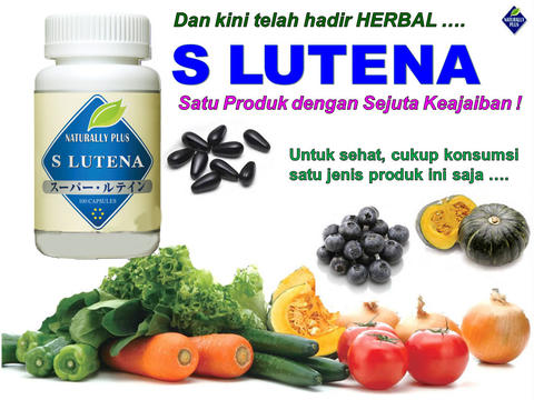 SLUTENA / S LUTENA / LUTEIN Naturally Plus ASLI 100% ORIGINAL