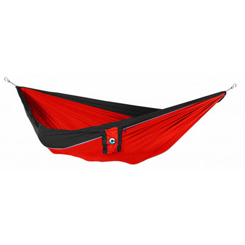 Commoc Hammocks Double Size Red Strip Black