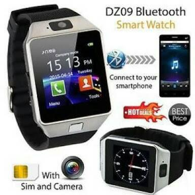Smart Watch U9/Smartwatch Dz09 Support Simcard & Memori Card Original Best Seller
