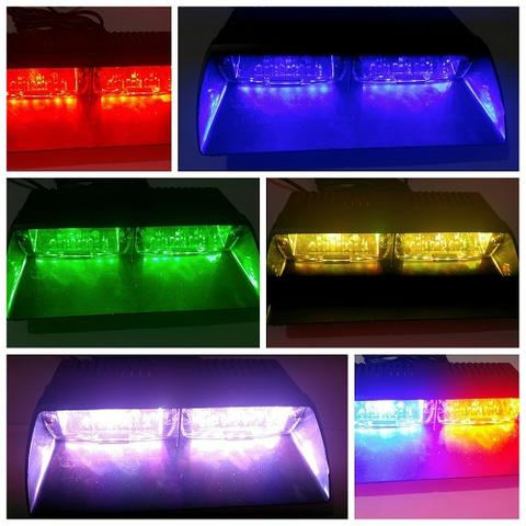 Strobo viper rgb federal signal - sangat terang - easy instal : tinggal colok lighter