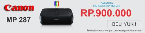 PRINTER CANON MP 287