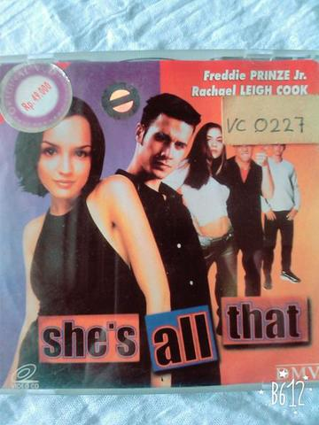 SHE'S ALL THAT (VCD ORIGINAL)