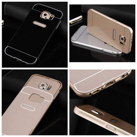 Aksesoris Samsung Galaxy S6 G920 - Metal Slide Hard Case