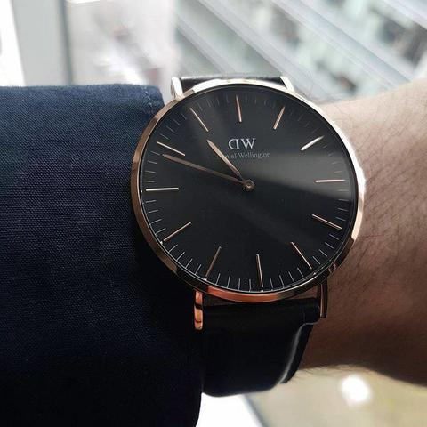 Jam Tangan Daniel Wellington Terbaru Classic Black Collection ORIGINAL TERMURAH