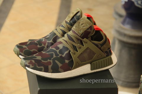 pretty nice 9a1df 316e1 ADIDAS NMD XR1 DUCK CAMO GREEN PK R1 YEEZY ULTRA BOOST 350 750 SUPREME  PALACE