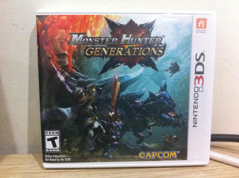 Monster Hunter Generation Like NEW !!!