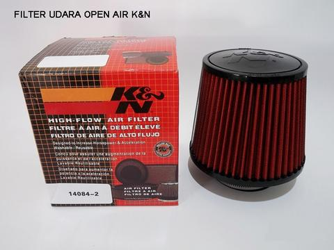 Filter Udara Open Air K&N universal, Inlet 3 Inch (75mm)