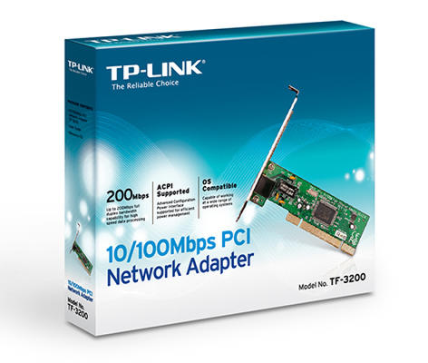 PCI TP-Link TF-3200 10/100Mbps Network Adapter