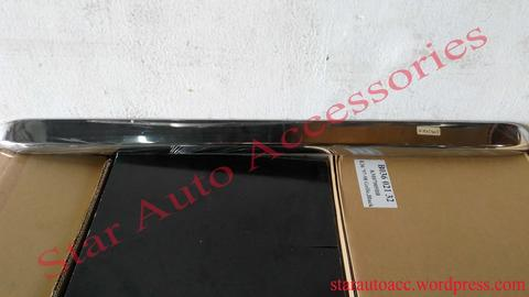 Trunk Lid Cover Bagasi Chrome Mercedes Benz W124