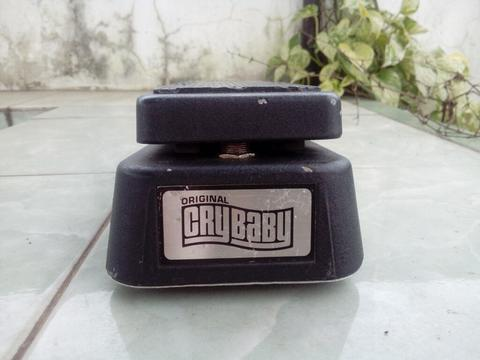 Dunlop Original Crybaby GCB-95 Wah Clyde McCoy spec, Red Fasel, Non-Buffer