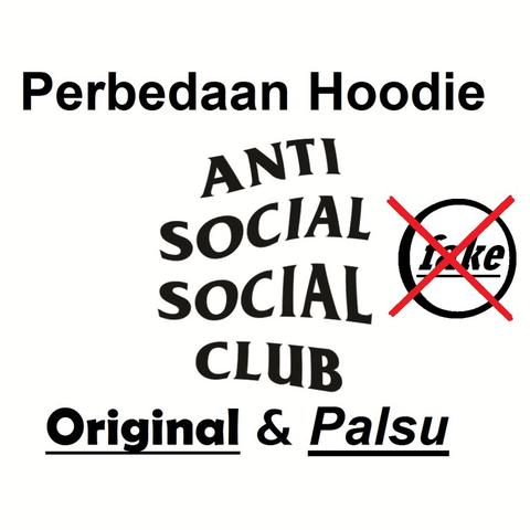 e8ccdf8e7b5e Terjual Perbedaan Anti Social Social Club KW dan FAKE (info for all ...