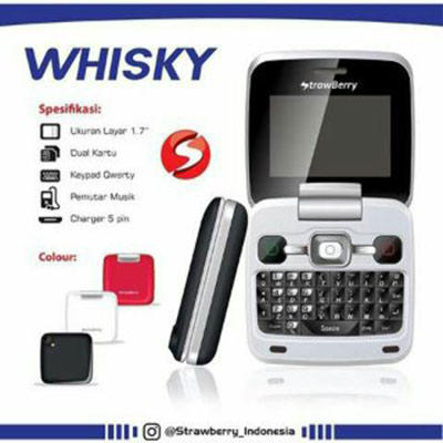 Handphone Strawberry ST99 Whisky [Flip]