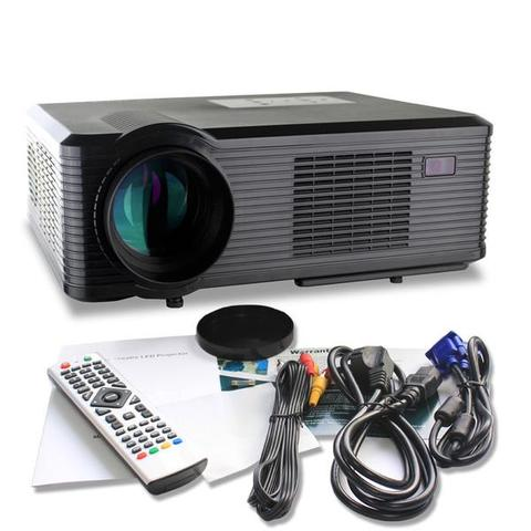 Proyektor Cheerlux CL740 HD Projector Portable LED 2400 Lumens