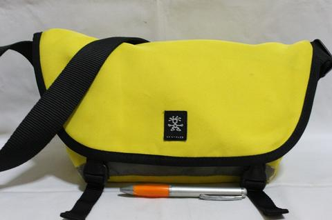 Tas branded CRUMPLER The Hillman Hunter yellow second bekas original asli