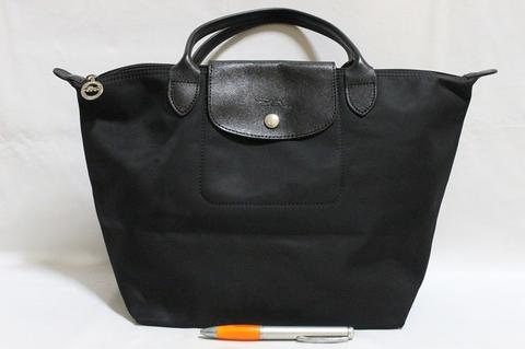 Tas branded LONGCHAMP LC185 Planetes type M short handle Made in France second ori