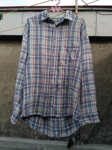 Flanel Flannel Kemeja Outdoor Product Products Second