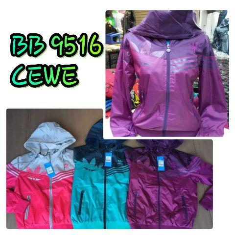 JAKET PARASUT ADIDAS LADIES BB