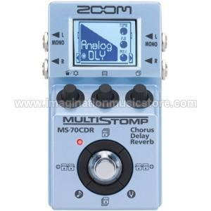 [IMAGINATION MUSIC STORE] Efek Gitar Zoom MS-70CDR