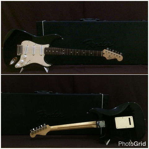 Fender Stratocaster Standard Made In Mexico 2005 & Hardcase original
