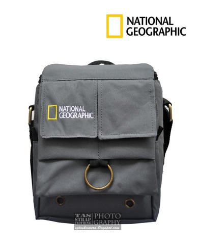 TAS KAMERA SLR/PROSUMER/MIRROLESS SINGLE LENSA MURAH MERIAH (ABU-ABU)