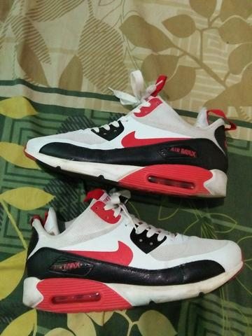 Nike Airmax 90 light bone dragon red sz 41