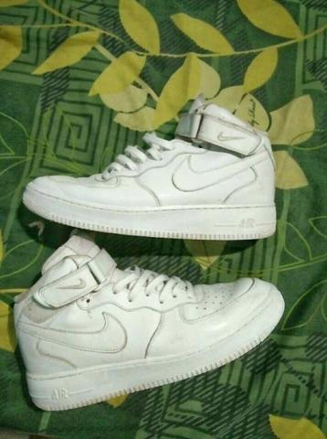 Nike air force 1 mid triple white second sz 43