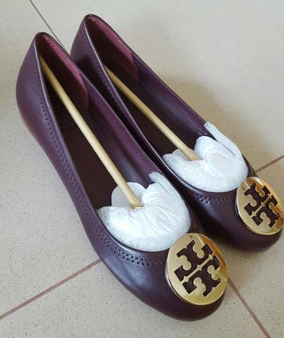 BNIB// TORY BURCH REVA BALLET FLAT SHOES ORIGINAL