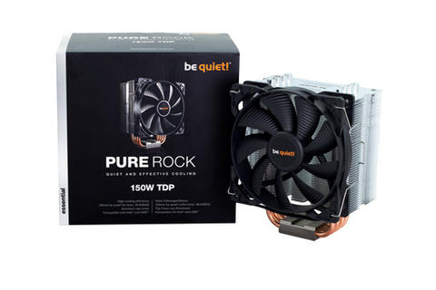 [JoJo CompTech] be quiet! PURE ROCK Quiet and Effective Cooling CPU Cooler