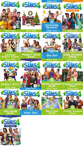 [PC Games] The Sims 4 Fullset Lengkap All Series Expansion, Stuff, Gamepack for WIN
