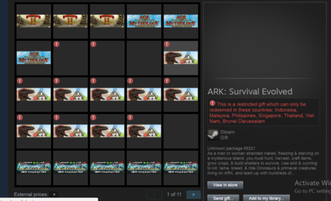[WTS] ARK-SURVIVAL EVOLVED (STEAM EDITION)