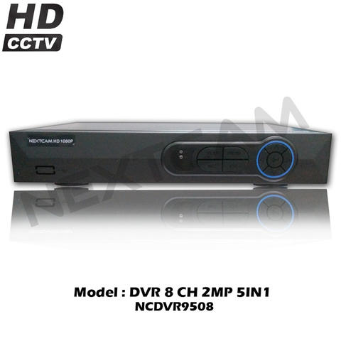 8 CHANNEL HD 1080P/2MP 5IN1 DVR NEXTCAM