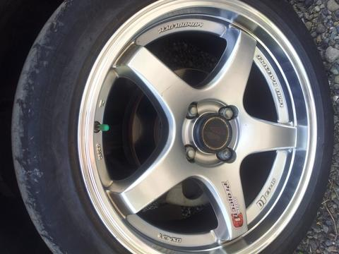 velg lenso project D 16 inch+Ban turanza