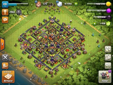 (BEST DEAL!) Account COC TH10 Nearly Maxed Out