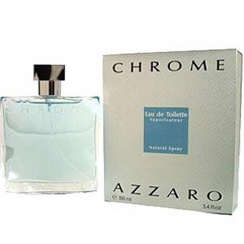 HARGUMS Azzaro Chrome for Men EDT 100ml Original Eropa