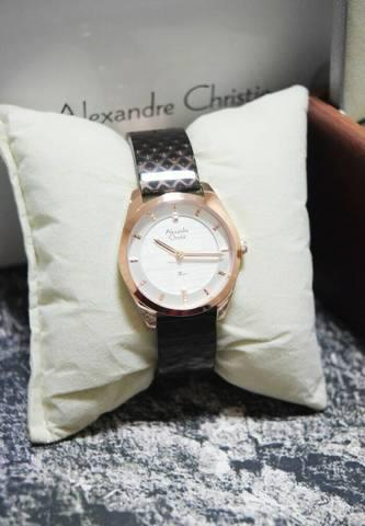 HARGUMS JAM TANGAN ALEXANDRE CHRISTIE AC2570 DARK BROWN ORIGINAL
