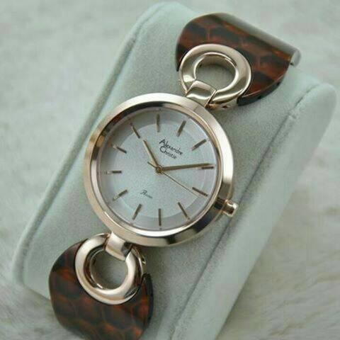 HARGUMS JAM TANGAN ALEXANDRE CHRISTIE AC2539LH BROWN ORIGINAL